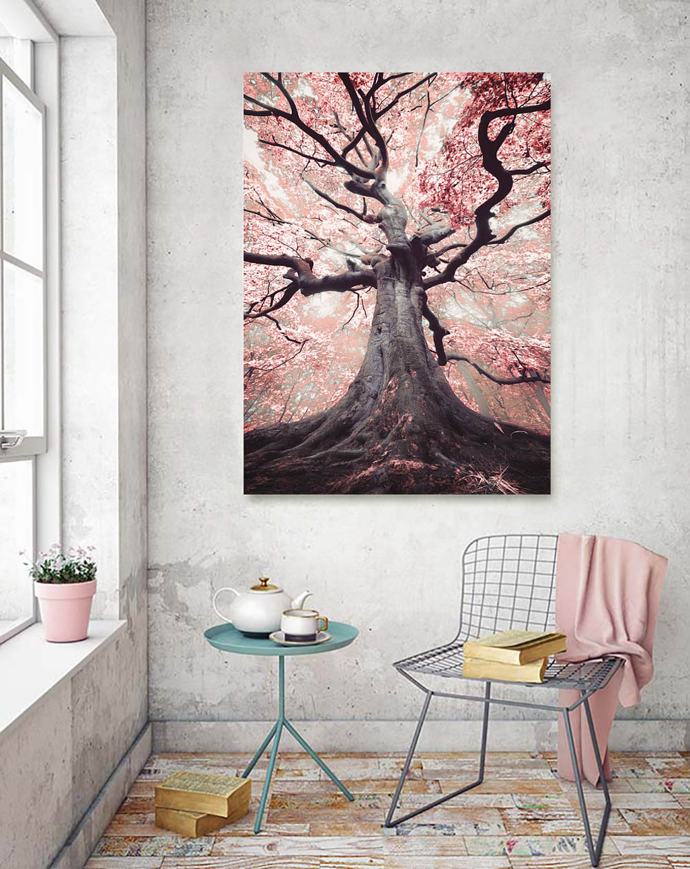 Tree art on canvas